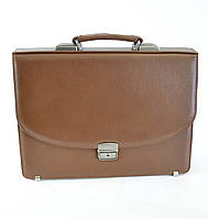 Мужской портфель в классическом стиле из натуральной кожи  Vesson 472 рыжий