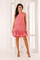 """Платье женское стильное с узором, размеры 44-46 (2 цвета) Cерии """"BARBARI"""" купить оптом в Одессе на 7 км"""