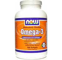 OMEGA 3 1000 MG NOW FOODS 200 капсул