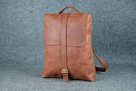 Женский рюкзак-трансформер |11981| Винтаж | Коньяк, фото 1