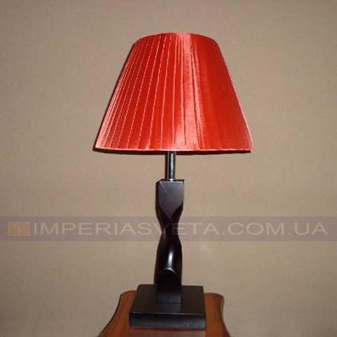 Светильник настольный декоративный ночник IMPERIA одноламповый с абажуром LUX-330316