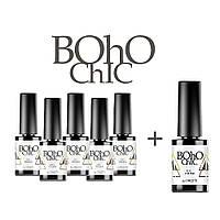 Набор гель-лаков Naomi Boho Chic 5+1