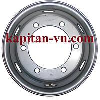 Грузовые диски R17.5 6.00 6x245 под конус, стальные диски на Mercedes MAN DAF, диски на Атего Мерседес