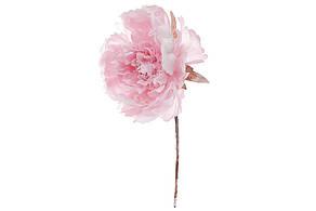 Декоративный искусственый цветок Пион 20см, цвет - темно-розовый 832-100