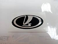 Заказ клиента силиконовая 3D эмблема на руль LADA