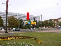 """Щит г. Житомир, Победы пл., 6, возле гостиницы """"Житомир"""", центр города, левый"""