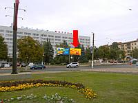 """Щит г. Житомир, Победы пл., 6, возле гостиницы """"Житомир"""", центр города, правый"""