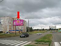 Щит г. Запорожье, Юбилейный пр-т / ул. Жукова, в направлении ул. Новостроек