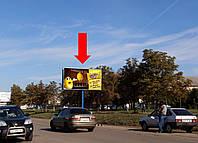 """Щит г. Ивано-Франковск, Надречная ул., возле супермаркета """"Велес"""", станция скорой помощи"""