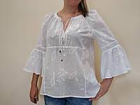 Блузка женская свободного покроя 46