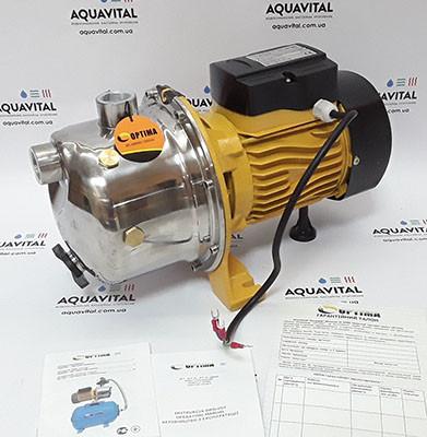 Поверхностный бытовой насос Optima JET 100S