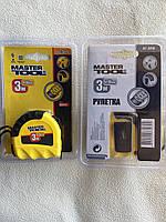 Рулетка Mastertool Shiftlock 3 м х 16 мм
