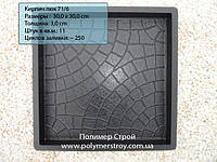 Форма 30х30 Люк Польша
