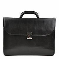 Портфель Tony Perotti Italico 8011 nero кожаный черный мужской