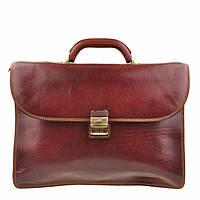 Портфель Tony Perotti Italico 8011 moro кожаный коричневый мужской