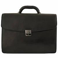 Портфель Tony Perotti Italico 8009 nero кожаный черный  мужской