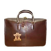 Портфель Tony Perotti Italico 8098 moro кожаный коричневый женский