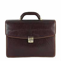 Портфель Tony Perotti Italico 8008-40 moro кожаный коричневый