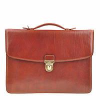 Портфель Tony Perotti Italico 8091L cognac кожаный коньячный мужской