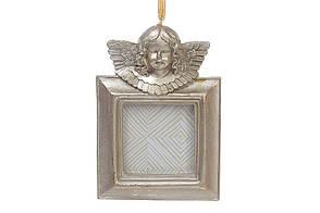 Фоторамка подвесная, цвет - золото антик 715-380