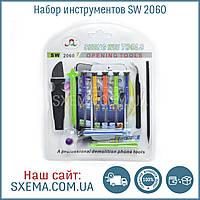Набор отверток / инструментов SW2060 для ремонта телефонов, планшетов (12 в 1)