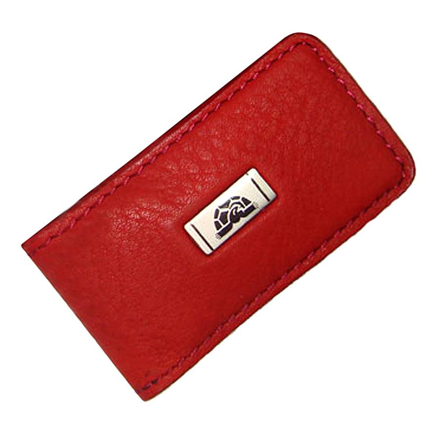 a60c956be4b9 Зажим для Денег Tony Perotti Contatto 1201 Rosso Кожаный Красный — в ...