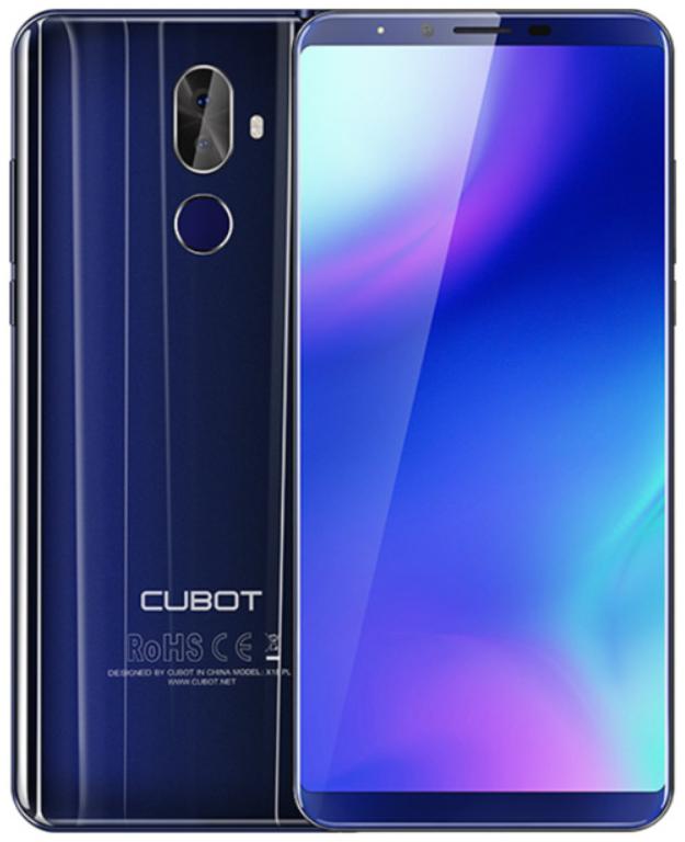 Cubot X18 Plus 4/64 Gb blue