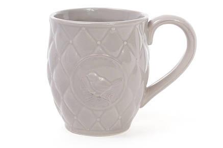 Кружка керамическая Птица 420мл, цвет бежевый 545-122, фото 2