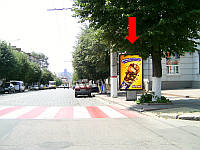 "Ситилайт г. Кировоград, Маркса К. ул. / ул. Егорова, возле магазина""Европа"""