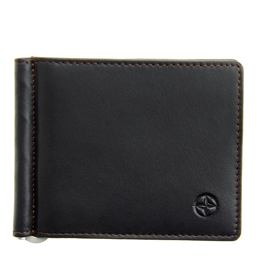 eb116be5360b Зажим для денег Tony Perotti Cortina 5000 moro кожаный темно-коричневый
