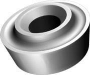 Пластина для обработки колесных пар RPUX L=30.8х10х10.5 мм