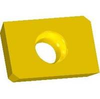 Пластина для фрезерной обработки ZDCW, L=15х3.18х9.525 мм