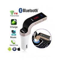 Автомобільний FM трансмітер модулятор CAR G7 Bluetooth, AUX, USB 12-24V