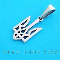 Герб Тризуб кулон из серебра