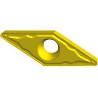 Пластина твердосплавная сменна VCMT с геометрией М5, L=16.6х9.53х4,4 мм