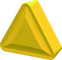 Пластина твердосплавная сменна TPMR с геометрией F6, L=1.0х6.35х3.18 мм