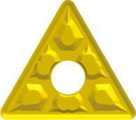 Пластина твердосплавная сменна TNMG с геометрией М2, L=22х4.76х0.8 мм