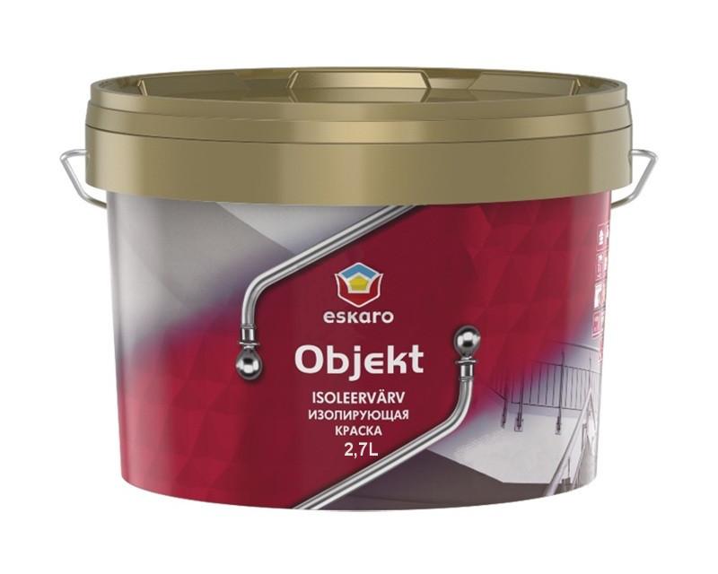 Краска дисперсионная ESKARO OBJEKT для изоляции пятен 2,7л