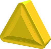 Пластина твердосплавная сменна TPMR с геометрией F6, L=16.5x9.525x3.18 мм