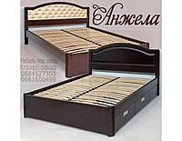 """Кровать двуспальная деревянная  """"Анжела"""" kr.ag6.1, фото 1"""