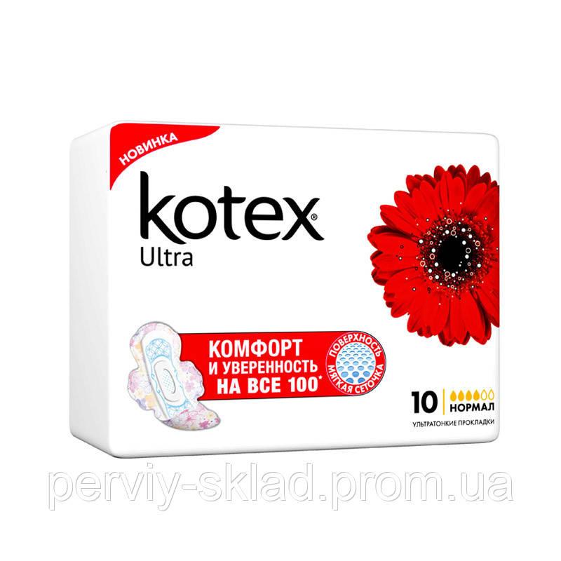 Прокладки Kotex Ultra Нормал 4к