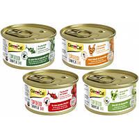 Консервы для кошек Gimborn GimCat Shiny Cat Superfood, 70 гр курица и морковь