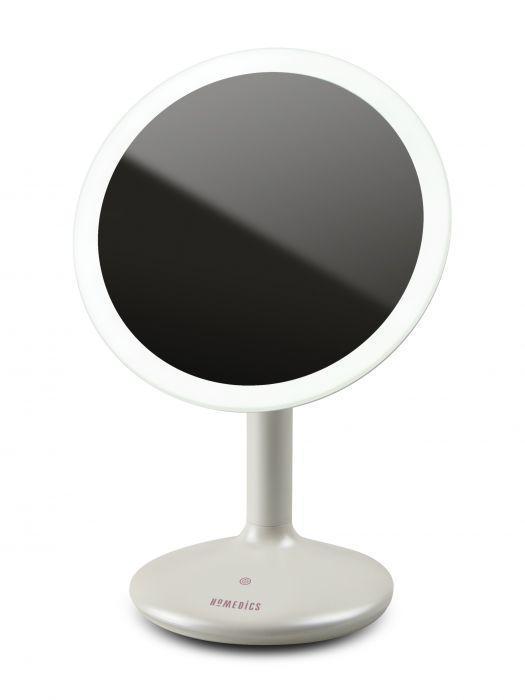Косметическое зеркало с увеличением и подсветкой Touch&Glow