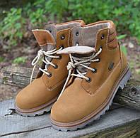 Утепленные кожаные ботинки Richter (Австрия) р 30. Кожаная подростковая обувь
