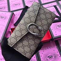 Женский брендовый кошелек Gucci, фото 1