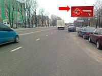 """Щит г. Львов, Липинского ул., 60, напротив отеля """"Волтер"""", в сторону пр-т Черновола"""
