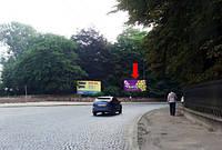 Щит г. Львов, Стрыйская ул., возле Монумента Славы, парка отдыха, в центр