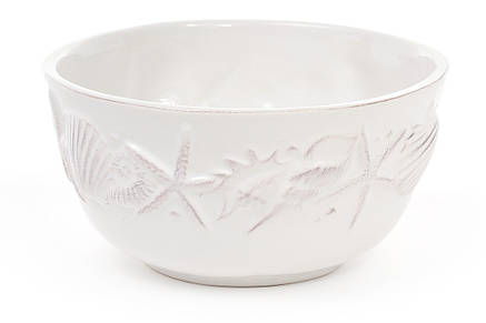 Пиала керамическая 550мл Морские мотивы, цвет - белый 545-378, фото 2
