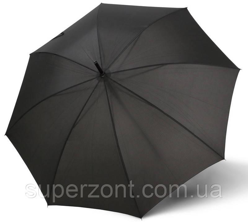 Зонт-трость полуавтомат, мужской Doppler 740167-1, черный