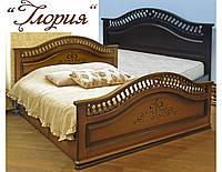 """Кровать деревянная двуспальная """"Глория"""" kr.gl6.1, фото 1"""
